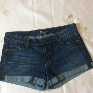 7 for all mankind jean short. 29